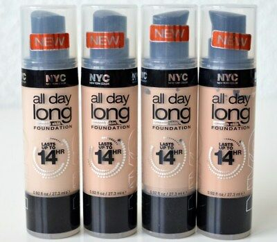 NYC All Day Long Smooth Skin Foundation CHOOSE YOUR COLOR