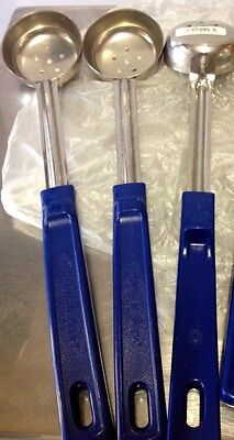 Vollrath 62155 Perforated 2 oz Spoodle Serving Utensil Spoon SET OF 3  FREE SHIP