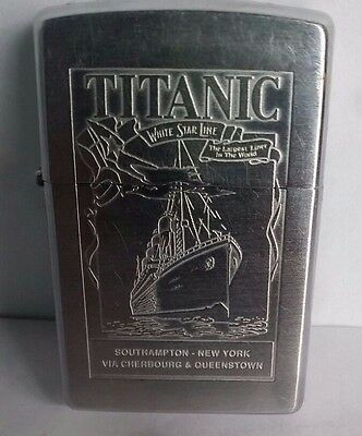 Zippo Vintage Titanic Star Line High Polish Chrome XVI - 2000