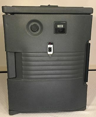 Cambro UPCH400191 Granite Gray Ultra Pan Carrier Heated Holding Pan Carrier