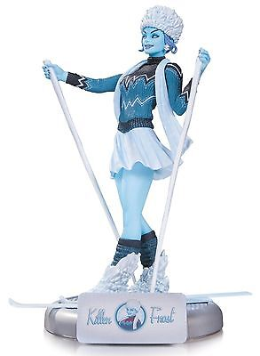DC Collectibles Comics Bombshells Killer Frost Statue NEW IN BOX