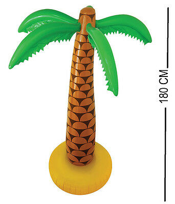 6Ft Inflatable Palm Tree 180Cm Blow Up Hawaiian Summer Party Decor Beach Toy Fun