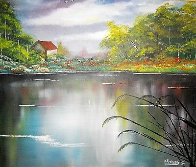 """Original Oil Painting on canvas 24""""x20"""" from the artist Kevin Richards"""