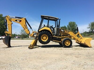 2015 Caterpillar 416F2 Backhoe Loader 4x4 Diesel Cat Tractor Back Hoe