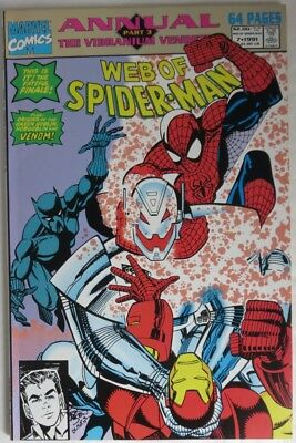 1991 Web Of Spider-Man #7 Annual  -   Vf                             (Inv14126)