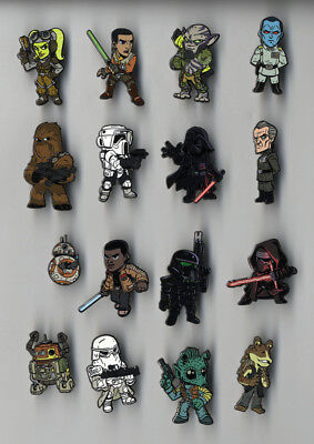Star Wars Celebration Orlando 2017 Complete 40 Pin Set Collection