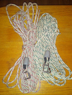 Pair of 9mm halyards