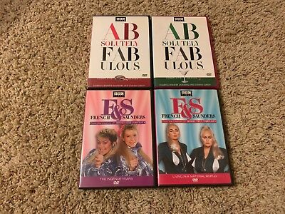 French  Saunders: Ingenue Years DVD LOT Ab Fab ABSOLUTELY FABULOUS MADONNA SPOOF