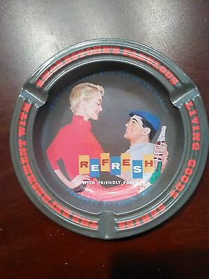 "pepsi tin ash tray ""refresh"" made in japan"