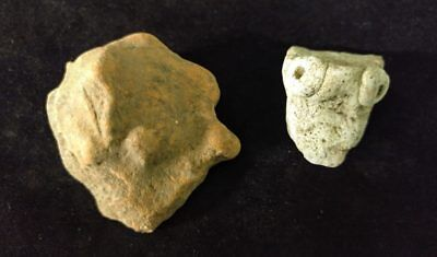 Mayan Cenote Yucatan Dig Pre-Columbian Clay Stone Ancient Animal Artifacts L4Z