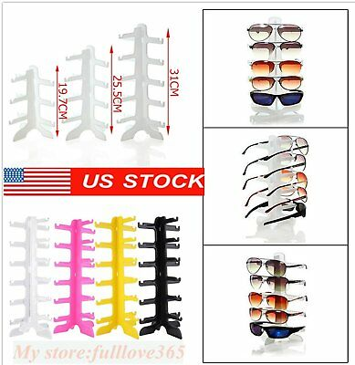 Sunglasses Eye Glasses Display Rack Stand Holder Organizer 4/5/6 Layers LOT USA
