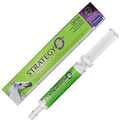 Virbac Strategy-T Oral Broad Spectrum Worm Paste for Horses Health Wormer