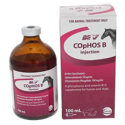 Cophos B Injection Horse Equine Health 100ml Phosphorus Vitamin B12 Supplement