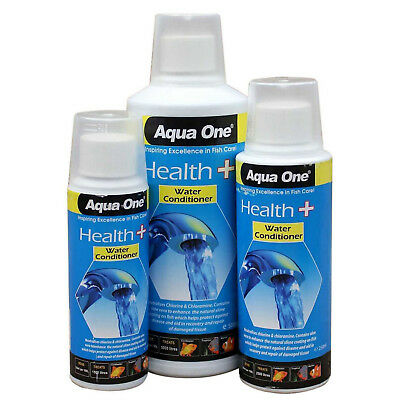 Health Plus Water Conditioner 150ml,250ml,500ml Sizes For New Fish Tank Aqua One
