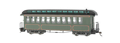 Bachamnn 26202 On30 Painted & Unlettered Wood Coach/Observation Car
