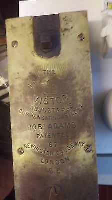 "Genuine Victorian""The London (Crown) Victor Adjustable Compensating"" door closer"