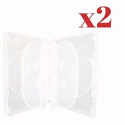 Clearance Sale!!! Masterstor (Pack Of 2)  Clear DVD 10 Way Case