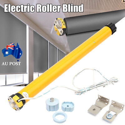 DIY DC 12V 30RPM Electric Roller Blind / Shade Tubular Motor + Hoder Kit