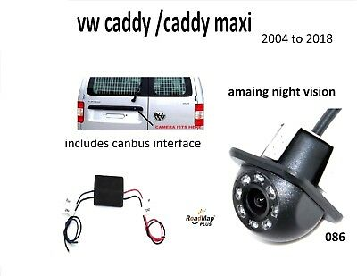 vw caddy caddy maxi rear reverse parking reversing camera kit