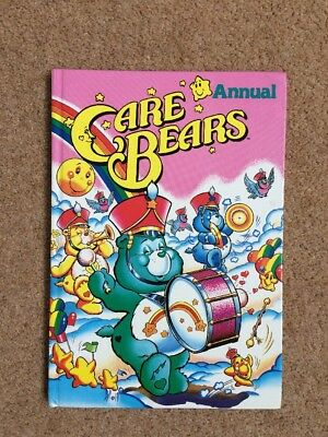 Care Bears Annual Hardback Book 1987 By Marvel Retro vintage Great Condition!