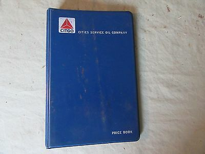 Vintage Cities Service Oil Small Binder 4 3/4 x 7   Lot 17-30-0