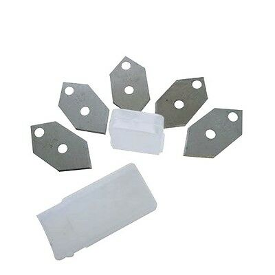 5 x Mount Cutter Spare Blades Replacement Bi-Directional Mount Board Cutting