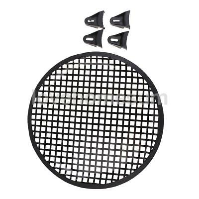 10 Inch Car Audio Speaker Subwoofer Metal Black Grill Cover Guard Protector