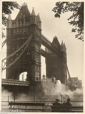 Fotografia Foto - Ponte Di Londra - Bridge Of London 1957  Cm.18 X 23    2