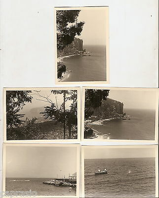 Sorrento   Lotto 5 Fotografie 1956  Cm. 10 X 7,5