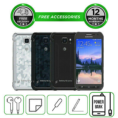 Samsung Galaxy S6 ACTIVE - 32GB  -all colours - Unlocked To All Networks