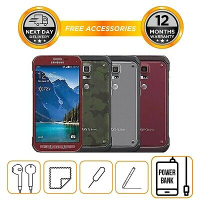 Samsung Galaxy S5 ACTIVE 16GB - Smartphone - Unlocked To All Networks