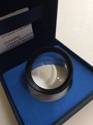 20D Double Aspheric Lens Ophthalmology & Optometry w/ Case
