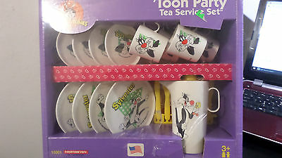 Looney Tunes Sylvester Toy Dishes By Chilton