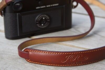Leather Camera Strap - Brown