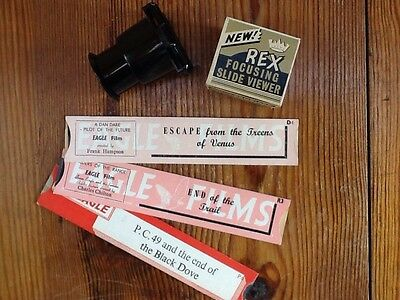 1950s Viewer And Three Films.