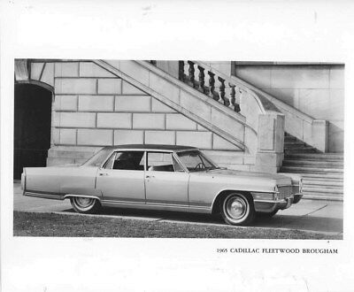 1965 Cadillac Fleetwood Brougham ORIGINAL Factory Photo oub5923