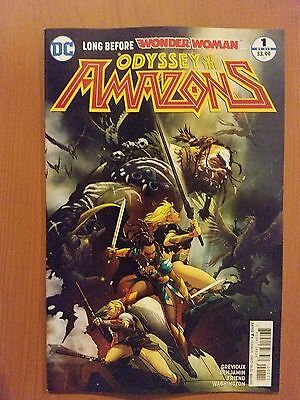 Odyssey of the Amazons # 1 DC Universe Rebirth (1st Print)