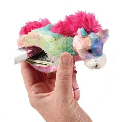 Pillow Pets Girls Multi Color Unicorn Pouches Toy Accessory