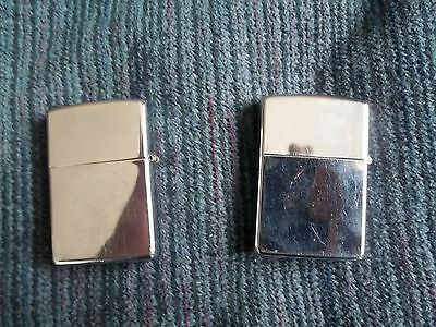Zippo Lighter Lot Working Condition Id#e3A74