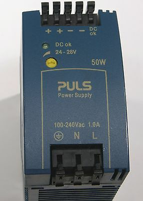 PULS ML50.100 24VDC DIN-Rail Power Supply – LAB TESTED