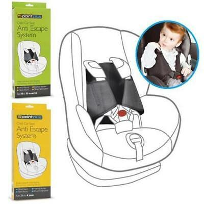 5 Point Plus Anti Escape Car Seat Safety System for Child&Toddler 15M - 4 Years
