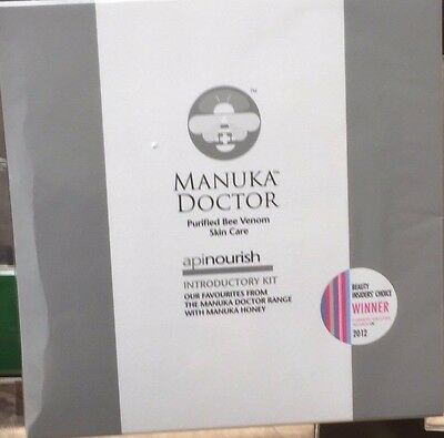 SEALED Manuka Doctor Apiclear / Apinourish  Introductory Kit Includes Bee Venom
