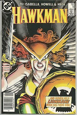 Hawkman #6 (Jan 1987, DC) Hawkgirl Goes After Lionmane