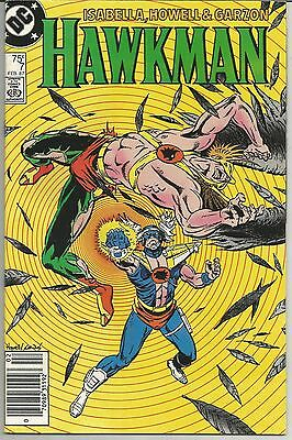 Hawkman #7 (Feb 1987, DC)  Gentleman Ghost Appearance!