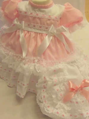 Dream Baby Traditional Netted Dress Pants  0-18 Months Or Reborn Dolls