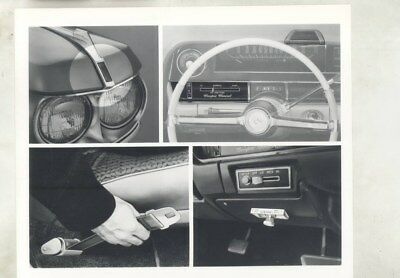 1964 Cadillac Features ORIGINAL Factory Photograph wy2614