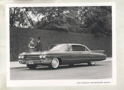 1960 Cadillac Six Window Sedan ORIGINAL Factory Photograph wy2617