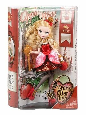 Ever After High Royal - Daughter of Snow White - Apple White Doll