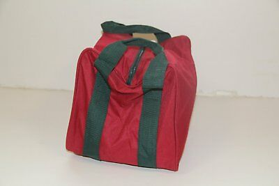 Heavy Duty 8 Ball Bocce Bag by EPCO - red