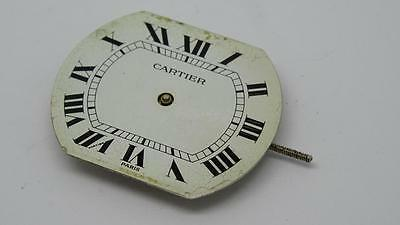Original Cartier Calibre 2512 Watch Movement & Dial ~Good Balance, Runs